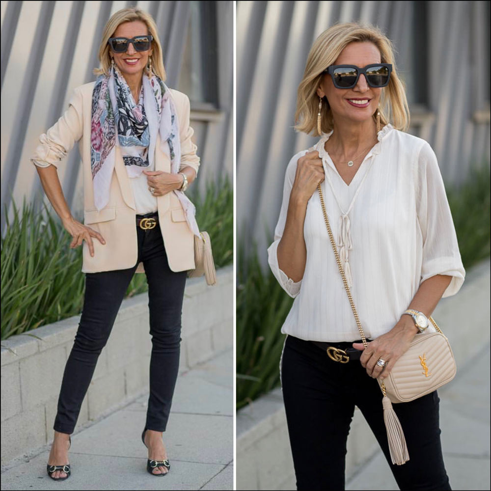 Eggshell a great fall neutral color for women