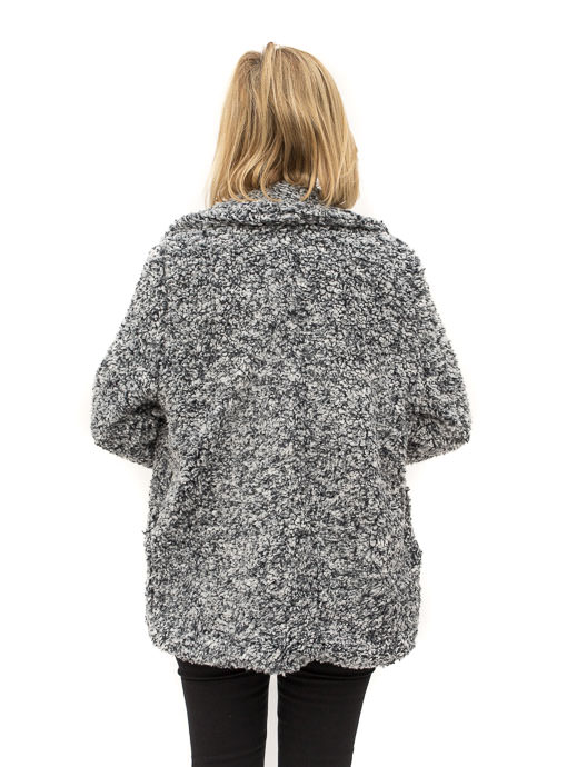 Gray Teddy Bear Jacket