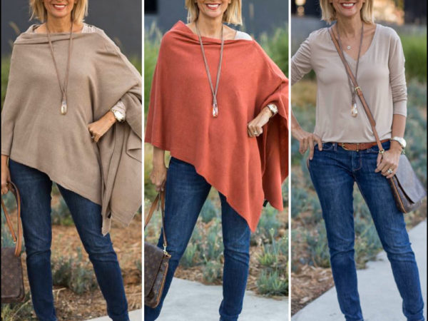Our-Rust-And-Taupe-Pull-On-Ponchos-for-women-styled-by-nora-minassian-featured