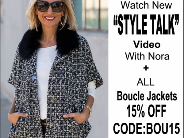 Watch A New Style Talk Video discussing Womens Boucle Jackets and their history