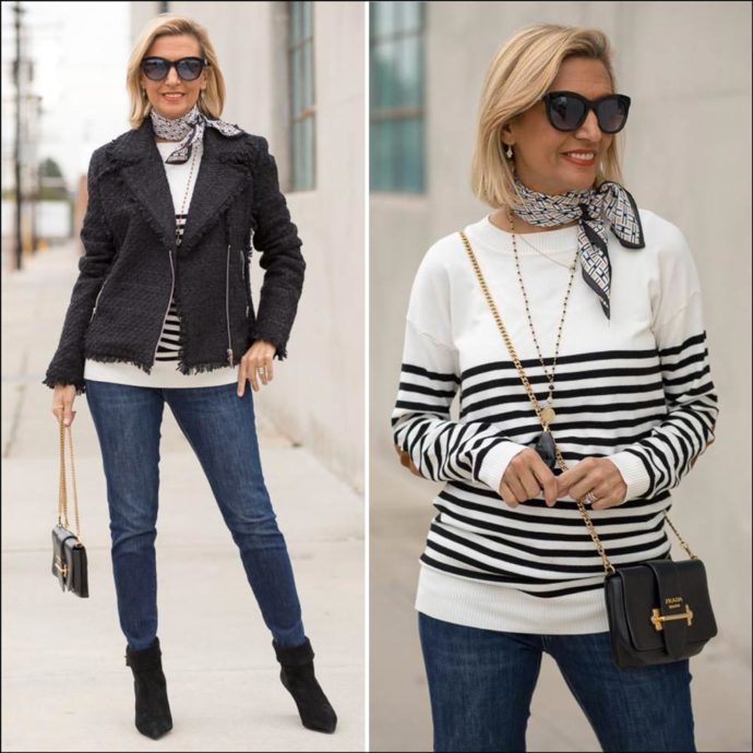 Pattern-Mixing-In-Black-Boucle-And-Ivory-Black-featured