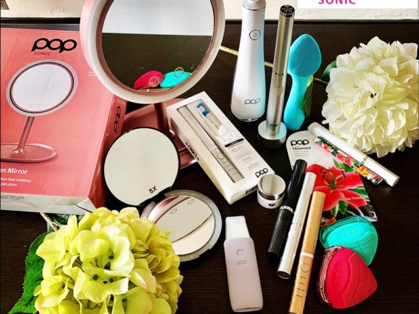 Pop sonic beauty and oral care products