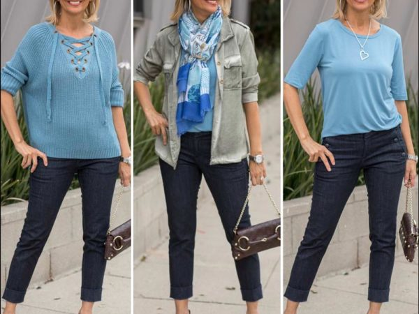 Spring Fashion for women in shades of blue