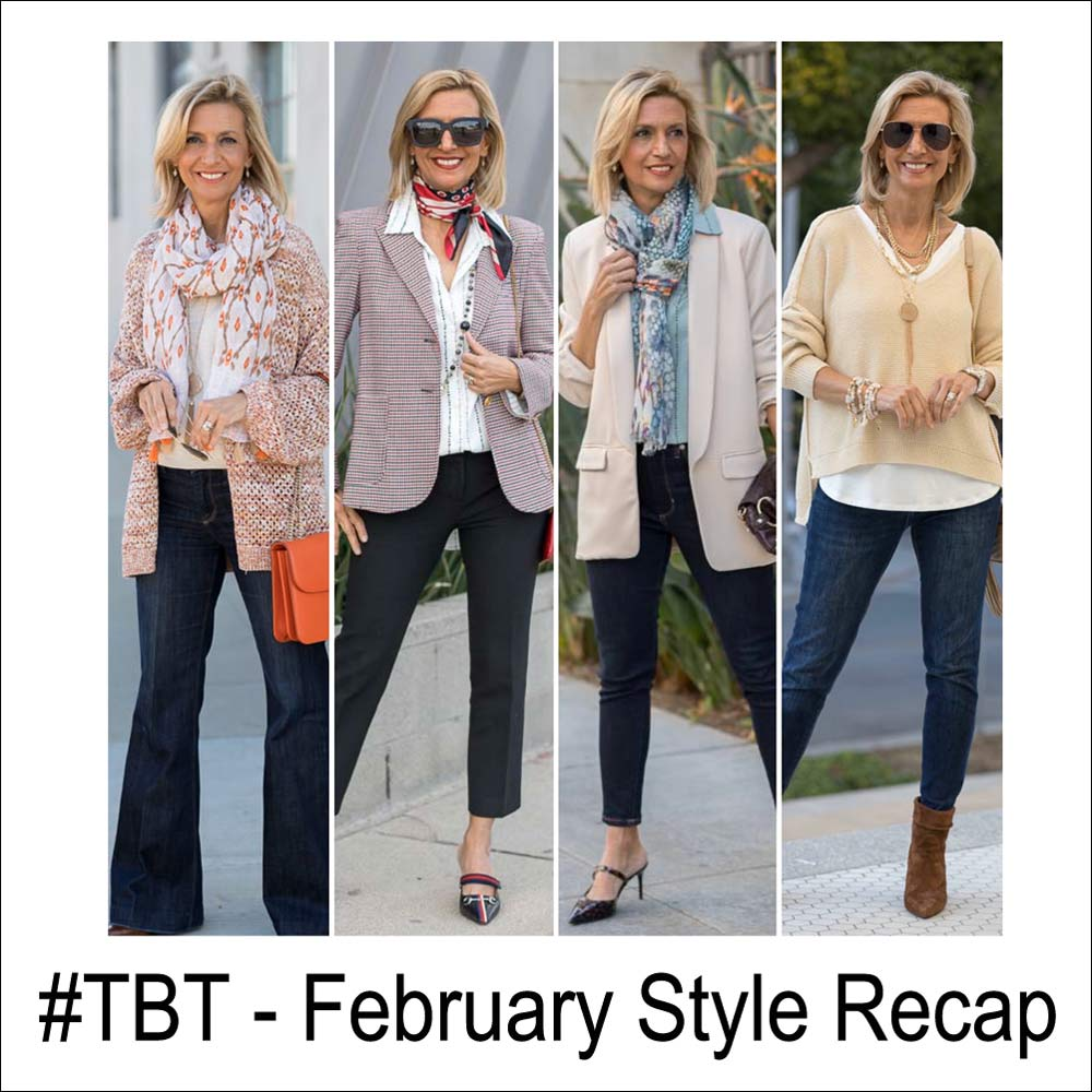 throwback thursday February Womens fashion and style recap