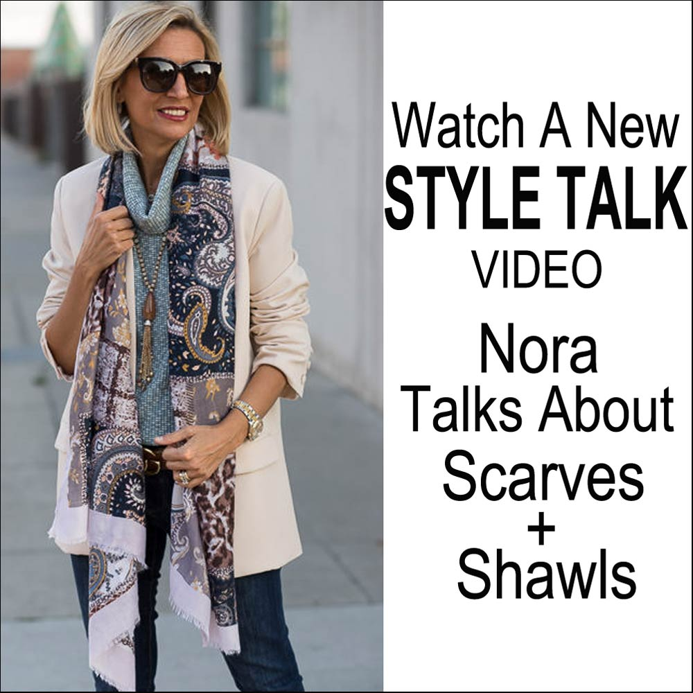 my favorite ways to tie a womens scarf watch my video