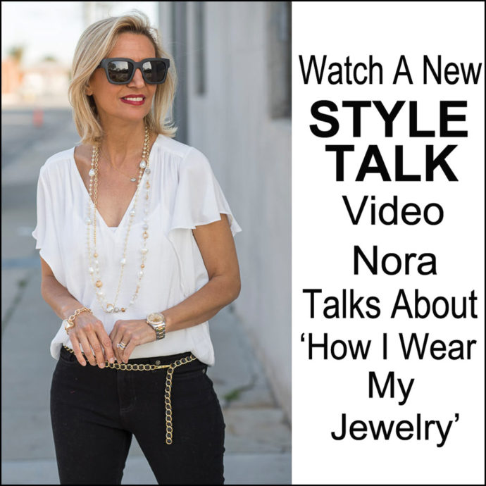 Nora new Style Talk video how i wear my jewelry