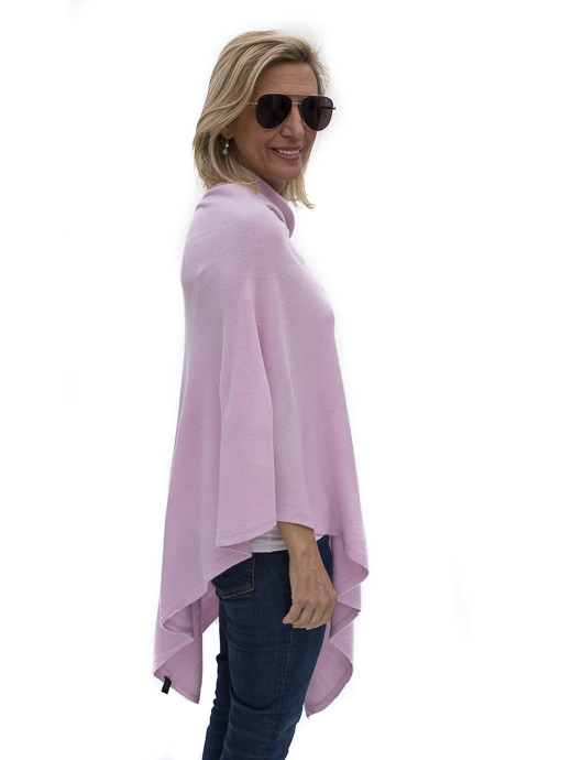 Lilac Pull On Poncho
