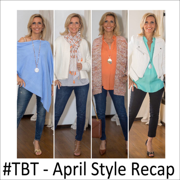 TBT april style for women