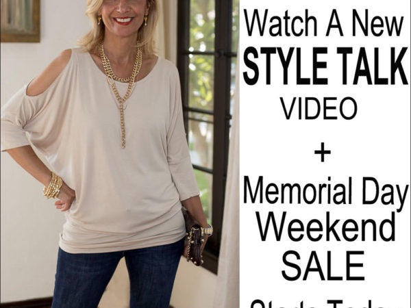 style Talk with Nora summer fashion and fun blouses and tank tops