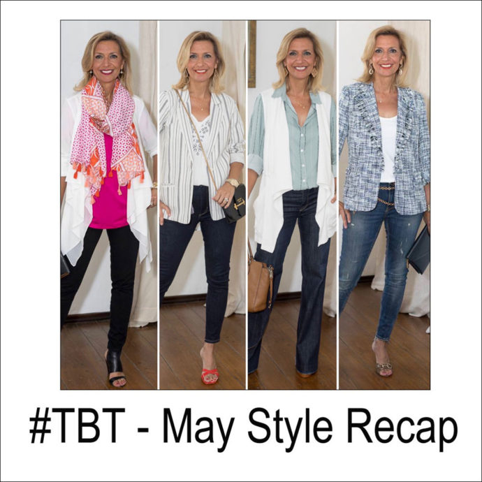 fashion over 40 style fashion recap May