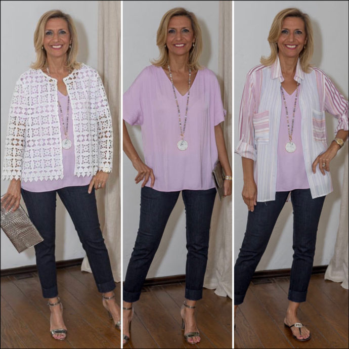 styling a summer blouse for a casual and dressy look