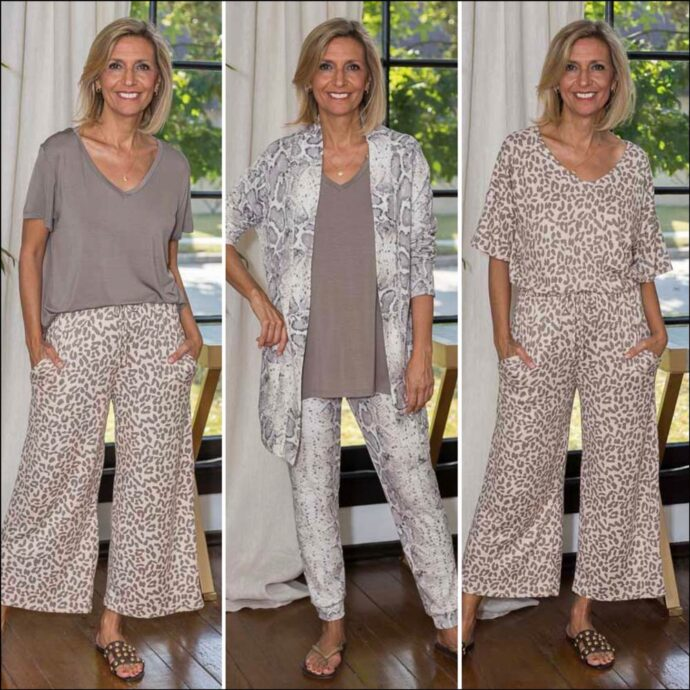 Womens Lounge wear animal prints