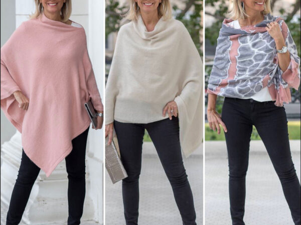 Our-Cream-And-Dusty-Rose-Cashmere-Blend-Ponchos-For-Women-featured