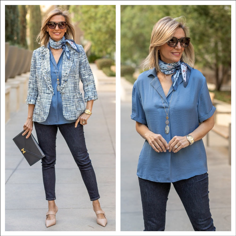 Blue Shades For Womens Spring Outfits 2021