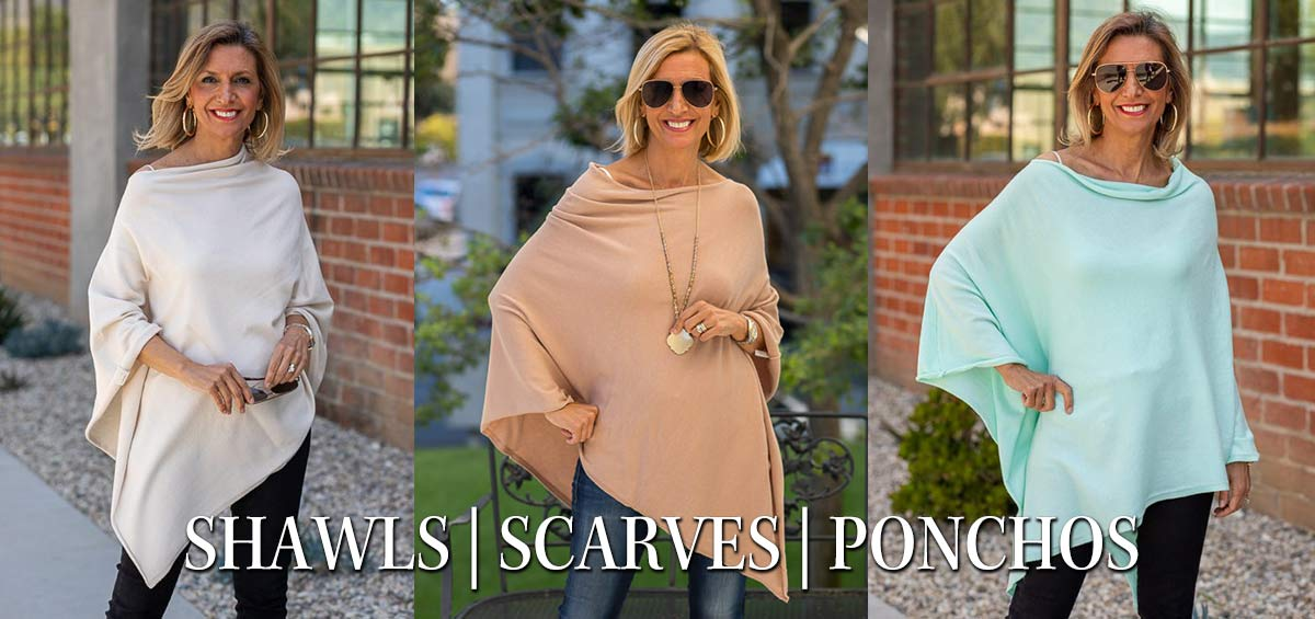 Womens-Spring-Summer-Pull-On-Ponchos