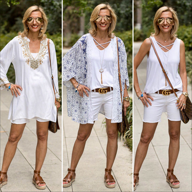 Looking Chic and Stylish in White for summer